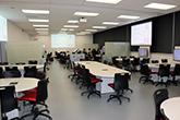 Salle d'apprentissage actif au Pavillon Adrien-Pouliot, local 2708